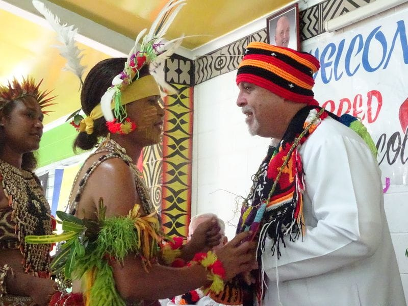 Superior General praises PNG's commitment to teacher education