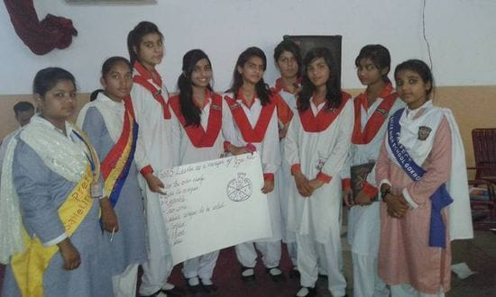 Induction Day for Prefects in Lasallian Schools in Pakistan