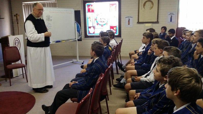 Great Lasallian Educator Br Jeffrey Calligan embarks on District visit