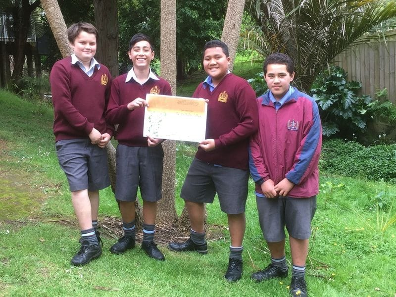 Good Stewards of the Earth at De La Salle Mangere