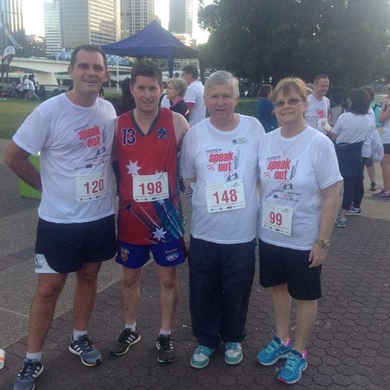 Southern Cross teachers join run against domestic violence