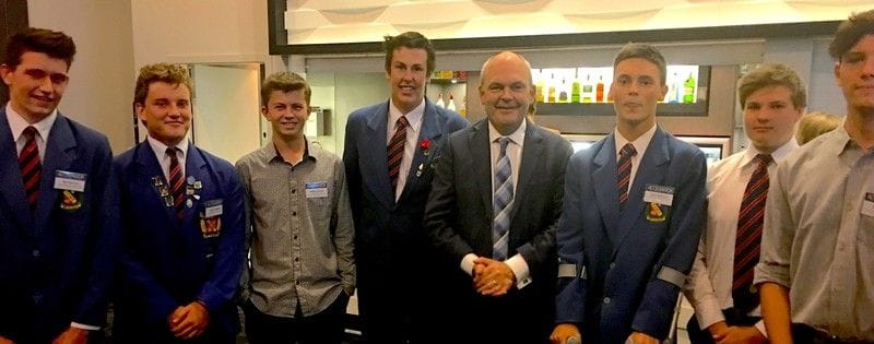 NZ Education Minister offers business advice to New Plymouth students
