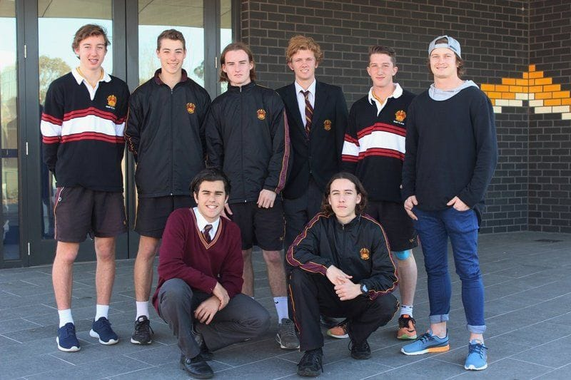AFL star and St James' College alumni Liam Sumner