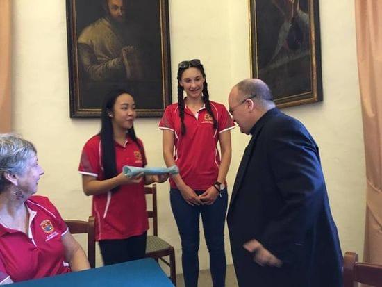 La Salle Middle Swan students embark on Christendom Tour