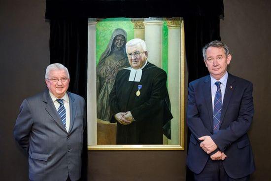 ACU unveils new portrait honouring Br Ambrose Payne