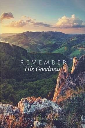 Remembering God's presence