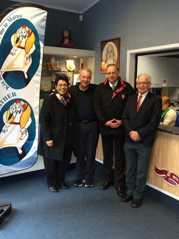 RELAN General Councillor visits New Zealand schools