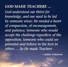 God made Teachers