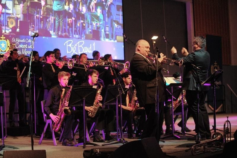 James Morrison gives a Master Class at St Michaels College