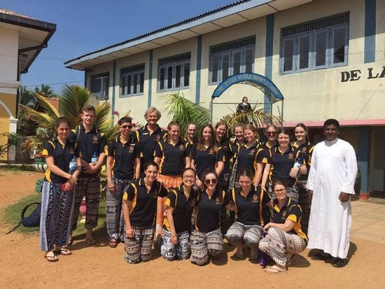 James Sheahan Catholic High Immersion in Sri Lanka