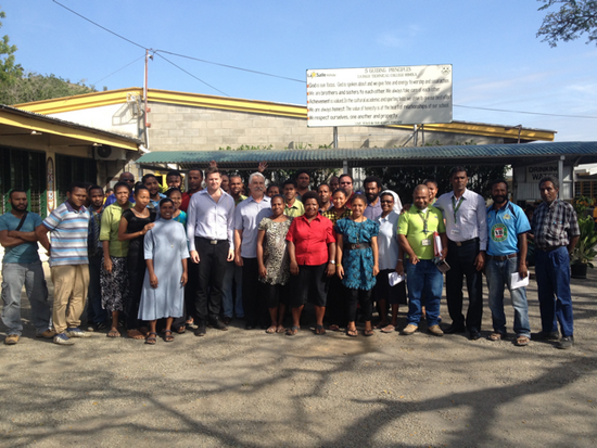PNG and NZ Teachers benefiting from new Twinning program