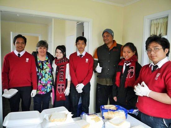 John Paul College Rotorua marks the Feast of St Lorenzo