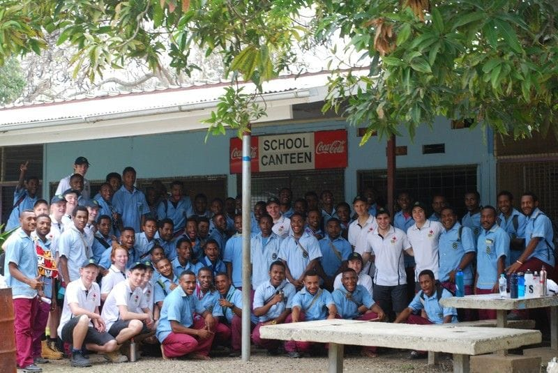 De La Salle Malvern Building Project in PNG