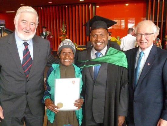 Congratulations Br Thomas Yapo-Master of Educational Leadership
