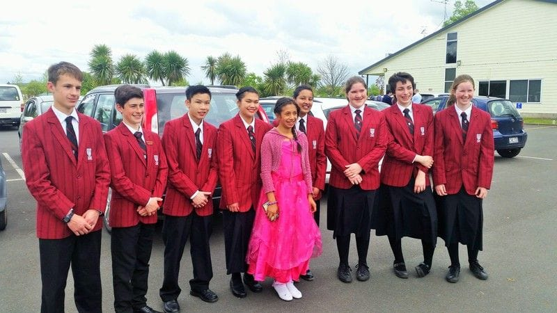 Refugee Outreach through John Paul College Rotorua