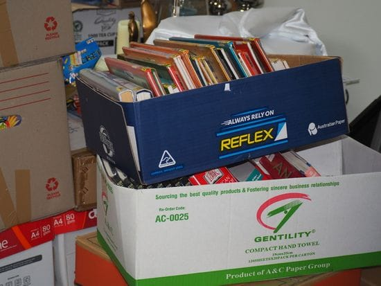 Generous response from Sydney schools to PNG Book Drive Campaign