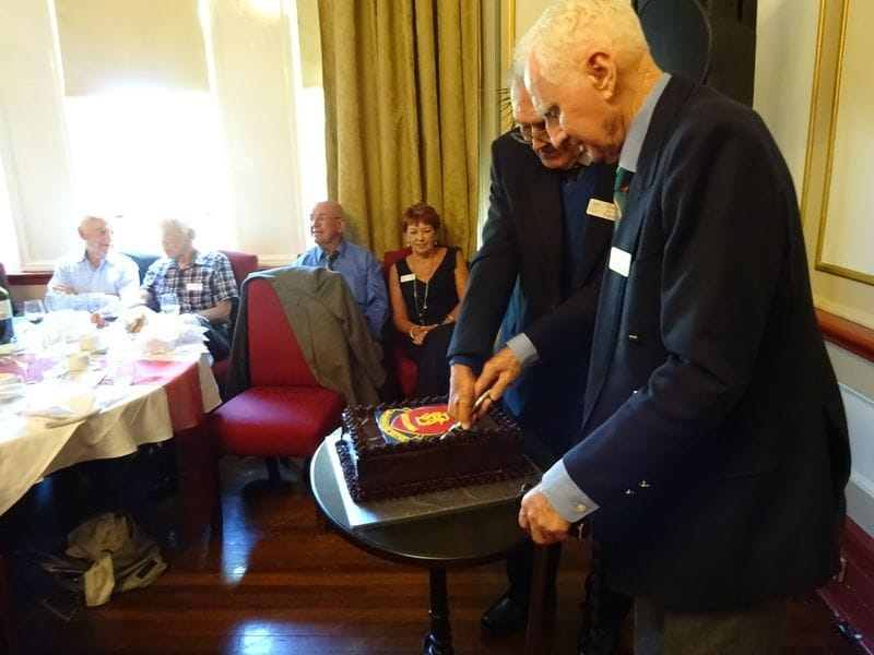 75th birthday dinner for St Bernard's College Katoomba
