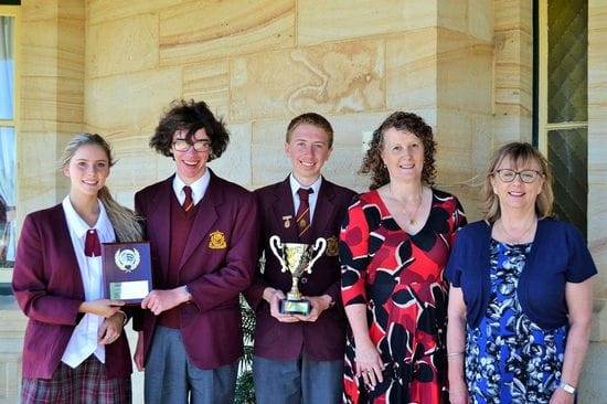La Salle Academy wins NSW Debating Competition