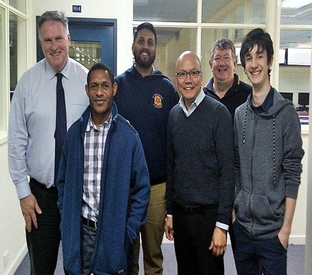Stronger I.T resources for PNG schools through Twinning program