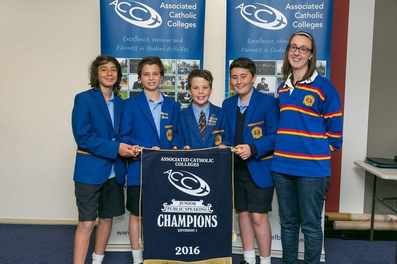St Bede's teams shine in Catholic Schools Debating Competition