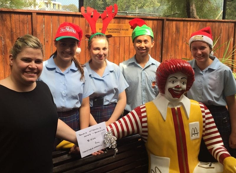Oakhill College Christmas Fundraiser for Ronald McDonald House