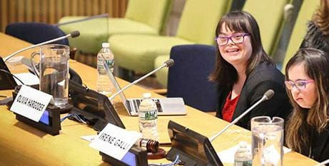 Brisbane student makes United Nation's speech