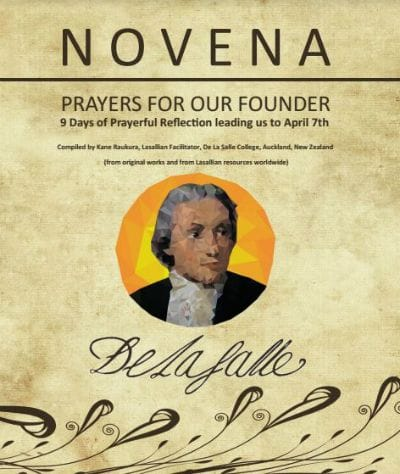 Prayers for our Founder - Novena