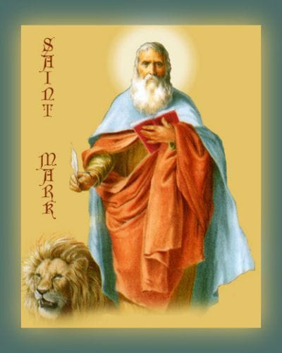Saint Mark Feast Day