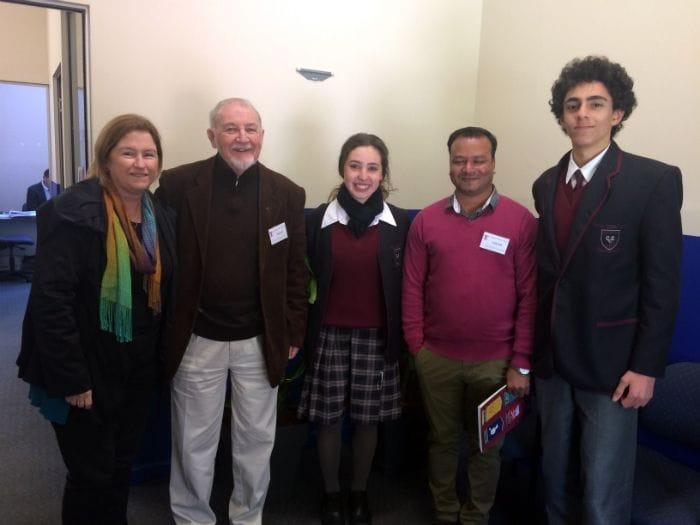 De La Salle Brothers visit Casimir College