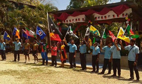 Independence Day Celebrations, De La Salle Bomana