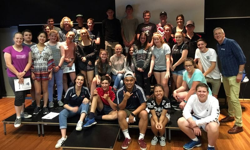 The Young Lasallians visit Inverell and Armidale