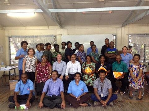 Revesby Heights teachers volunteer in PNG