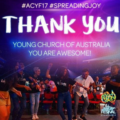 Youth Ministers rouse crowds at ACYF17