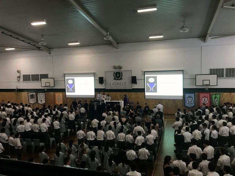 Ash Wednesday Service at Lasalle Bankstown