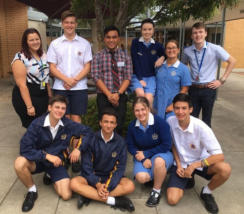 LMC visit St Michael's College, Henley Beach