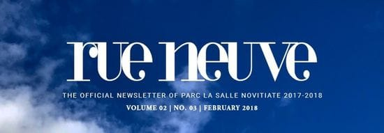Rue Neuve: Newsletter of PARC La Salle Novitate