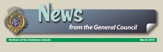 News from the General Council - March 2018