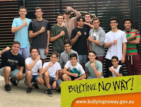 De La Salle Revesby act against bullying and violence
