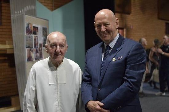 Celebrating Br Julian Watson's 80 years of Service
