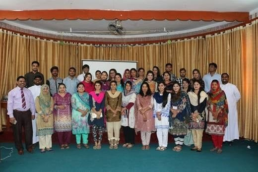 Lasallian induction for new Pakistani teachers