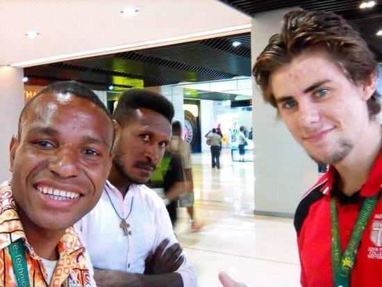 PNG National receives Visa bound for Australia
