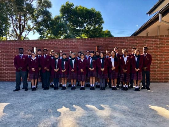 Youth Leaders from Holy Spirit Catholic College Lakemba