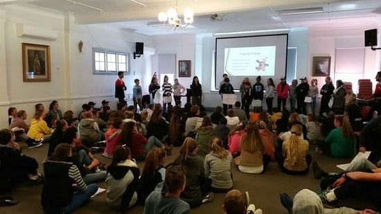 Vibrant youth engagement in Armidale Retreats