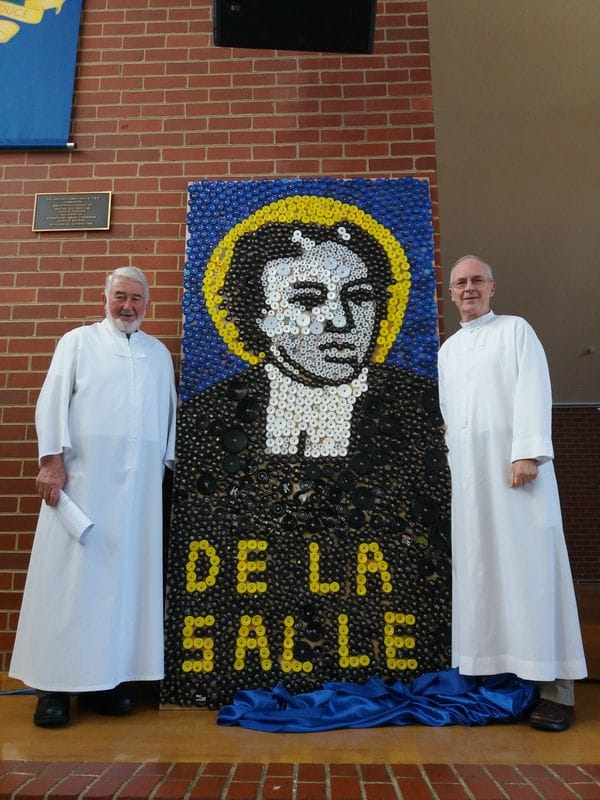 De La Salle College Malvern Mosaic of the Founder