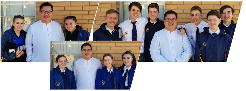 Br Mandy Visits St Michael's College