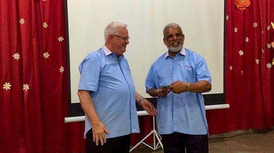 50 golden years of service for Br Christie Dorus