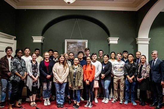 Lasallian students win Rome, London study tour