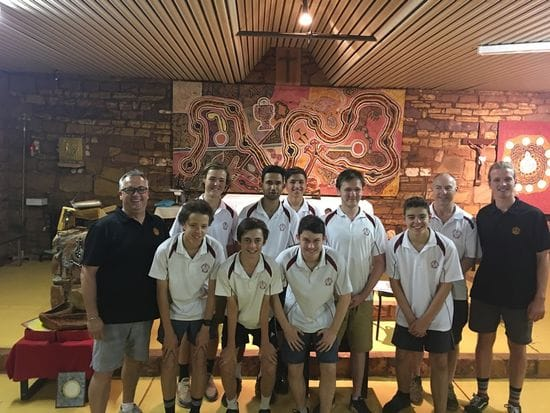 St James students immerse in Balgo's Aboriginal culture