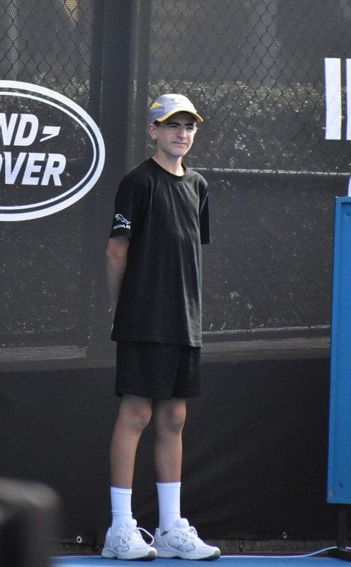 Oakhill College Student Serving his Country Through Tennis
