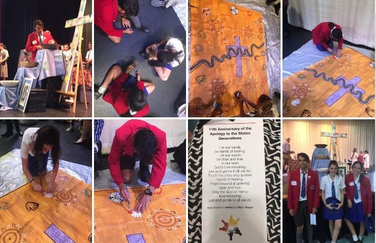 SOUTHERN CROSS STUDENTS COMMEMORATE THE ANNIVERSARY OF THE STOLEN GENERATION